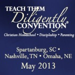 Teach them Diligently  Convention discount