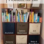 Our Homeschool Preschool Corner
