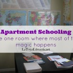 Homeschool Room: Apartment Style
