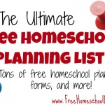 Ultimate List of FREE planning Resources