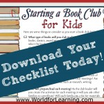 FREE Printable: How to Start a Book Club for Kids