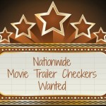 Nationwide Movie Trailer Checkers Wanted