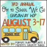 Off To School We Go Blog Hop