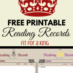 Free Reading Record Printable