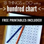 Fun Ways to Use a Hundreds Chart