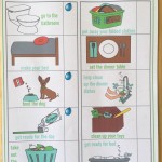 Responsibility Chart for Preschoolers
