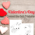 Free Valentine's Day Connect the Dots