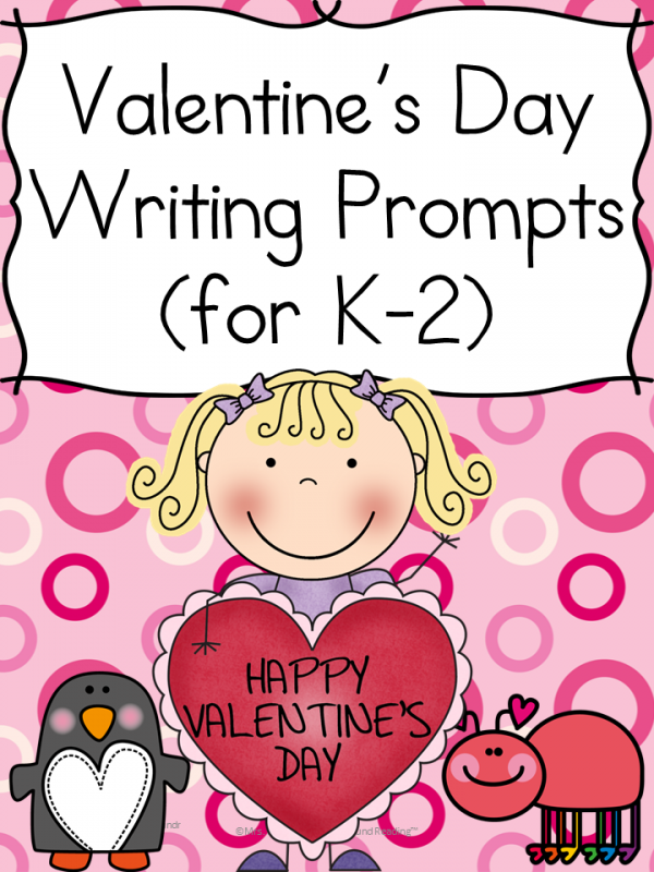 Free Valentine's Day Writing Prompts (K-2)