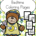 Free Bedtime Coloring Pages