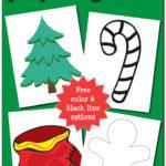 Christmas Play Dough Mats {free printable}